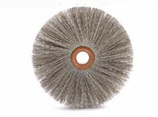 Scheibenbürste mit Kupfernabe (abrasiv)