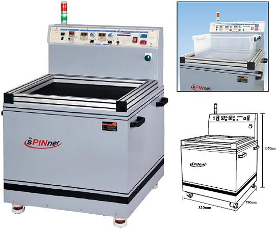 Entgrat- und Poliermaschine HD-750 CL