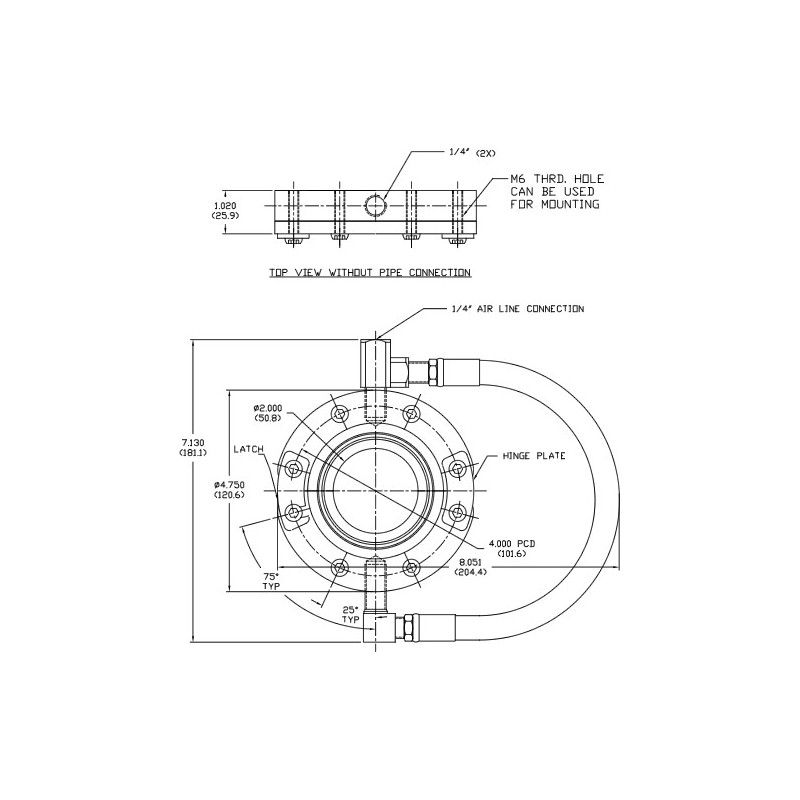 Ringdüsen Druckluft AIR-AW02 ØInt. 51 mm