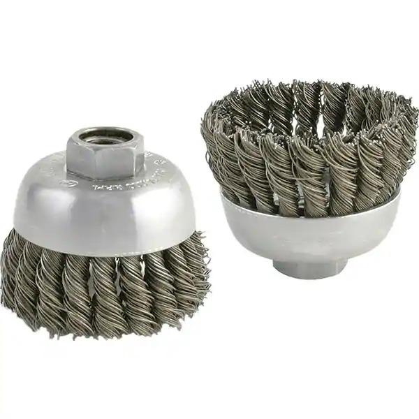 Mini-Topfbürste (einreihig, Cable Twist)